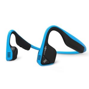Aftershokz Trekz Titanium Open Ear Wireless Bone Conduction Headphones - Ocean Blue