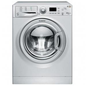 Ariston Front Load Washing Machine 8 | 6 Kg Washer & Dryer Silver