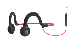 Aftershokz Sportz Titanium Open-Ear Wired With Mic - Pink