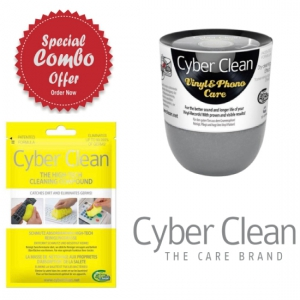 Cyber Clean PhonoCare Cup 160g + Home & Office Zip Bag 80g