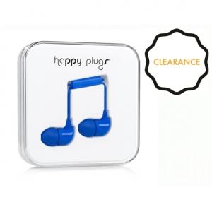 Happy Plugs In-Ear Headphones - Blue