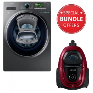 Samsung Washing Machine + Free Vacuum Cleaner Bagless 1800 W