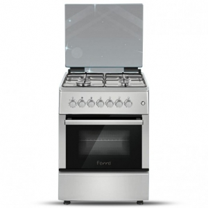 Ferre Gas Cooker 4 Burner 60*60 - Silver