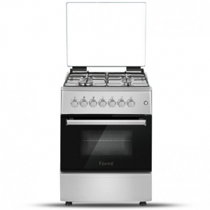 Ferre Gas Cooker 4 Burner 60*60 - Stainless Steel