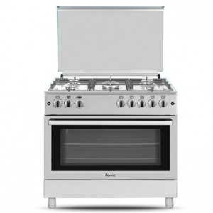 Ferre Gas Cooker 5 Burner 60*90 - Stainless Steel