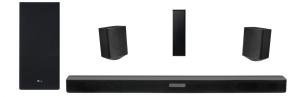 LG Soundbar- Wireless Sub-woofer - 4.1ch - SK5R