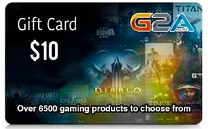 G2A Gift Card 10$