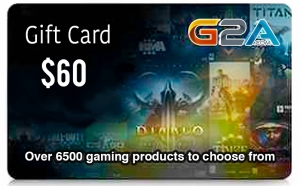 G2A Gift Card 60$