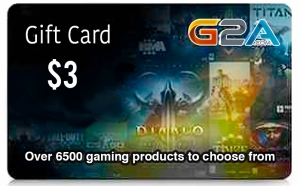 G2A Gift Card 3$