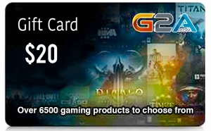 G2A Gift Card 20$