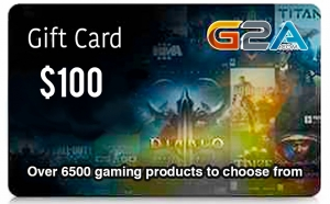 G2A Gift Card 100$