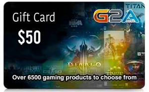 G2A Gift Card 50$