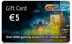 G2A Gift Card 5$