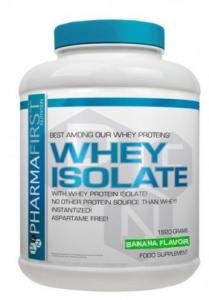 PharmaFirst Whey Isolate - Banana Flavour - 1820 g