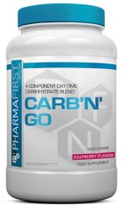 PharmaFirst Carb 'n' Go - Raspberry Flavour - 2000gm