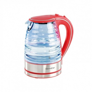 Domo Clip - Electric Glass Cordless Kettle 1.7L - DOD128R