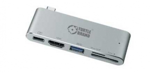 Turtle Brand Type-C Multi-Port Hub with HDMI - Space Gray