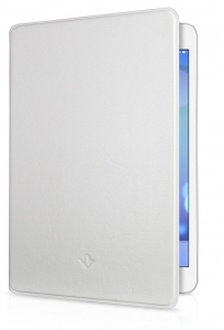 Twelve South Surface Pad Luxury Leather Cover for iPad Mini - White