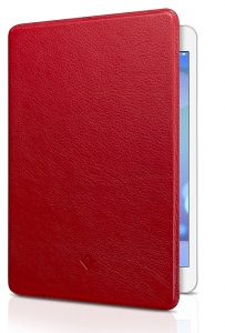 Twelve South Surface Pad Luxury Leather Cover for iPad Mini - Red