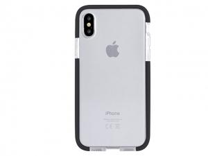Devia Fashion Shockproof TPU Case for iPhone X - Black