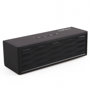 LotFancy Super Bass Portable Rechargeable Mini Hi-Fi Bluetooth Speaker - Black