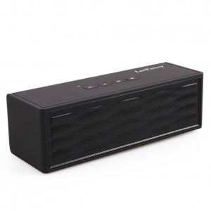 LotFancy Super Bass Portable Rechargeable Mini Hi-Fi Bluetooth Speaker - Black