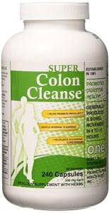 Health Plus Super Colon Cleanse Capsules - 530 mg - 240 Count