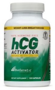 BioGenetic 100 Hormone HCG Activator Natural Weight Loss Aid 120 Capsules