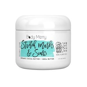 Body Merry Stretch Marks & Scars Defense Cream - Daily Moisturizer