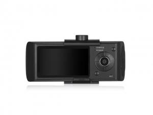 """R300 - GPS Logger Dual Lens Camera Car DVR G-sensor Dash Cam Video Recorder -2.7""""inch"""