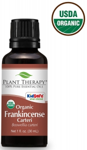 Plant Therapy USDA Certified Organic Frankincense Carteri Essential Oil - 30 mL (1 Ounce)