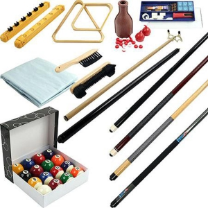 32 Piece Billiards Accessories Kit for Pool Table