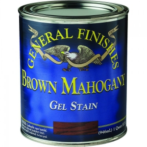 General Finishes - Gel Stain - Brown Mahogany -1 Quart