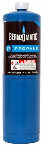 Bernzomatic Standard Propane Fuel Cylinder (1 Pack)