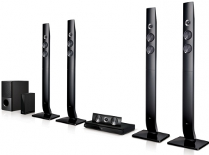 LG DVD Home Theatre System - 1200W - 5.1 Channel - LHD756W