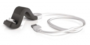 Philips Flex-adapt Sync and Charge Stand for Smartphones - Black