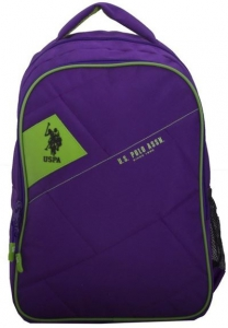 "US POLO Back Pack Purple 18"" - PLÇAN6318"