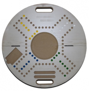Jackaro for 4 Players Circle Shape Foldable - White Board