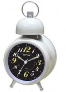 Rhythm Bell Alarm Clock - CRA851NR38