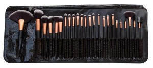 Rio Professional Cosmetic Brush Collection 24-Piece