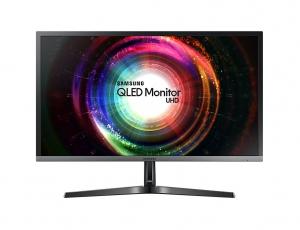 "Samsung 28"" UHD Monitor with Quantum Dot - LU28H750UQMXZN"