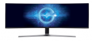 """Samsung 49"""" Curved Monitor with Metal Quantum Dot Technology LC49HG90DMMXUE"""