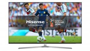 "Hisense 65 "" UHD-Smart 4K HDR LED TV FIFA - 65U7A"