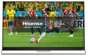 """Hisense 75 """" ULED-Smart 4K HDR LED TV Fifa - 75U9A"""