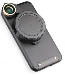Ztylus RV-3 Revolver Lens Camera Kit for iPhone 7 / 8 - Gunmetal
