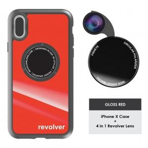 Ztylus M6 Lens Kit for iPhone X - Gloss Red
