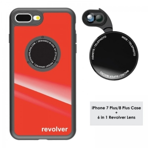 Ztylus M6 Lens Kit for iPhone 7+ / 8+ - Gloss Red