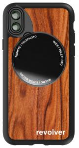 Ztylus M6 Lens Kit for iPhone X - Wood Pattern