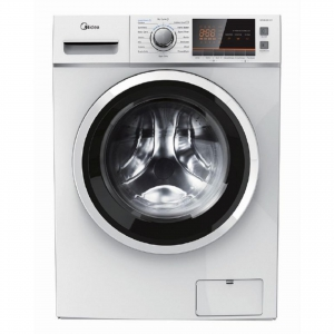 Midea 6 KG Stainless Steel Washer Dryer - White - MFC80-DU1401W