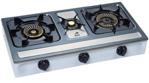 Orca Table Top Gas Burner - 3 Burner - HT-G-3066A